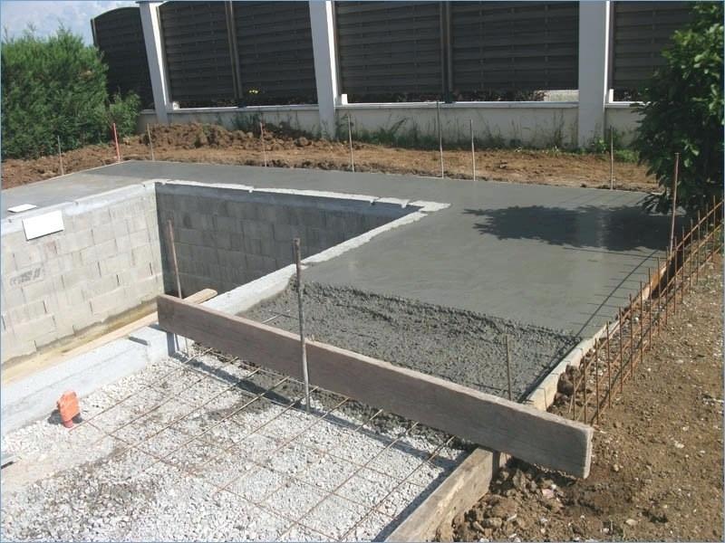 Comment faire la dalle de béton