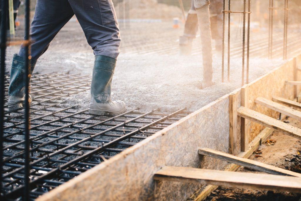 Ferraillage d'une dalle en béton