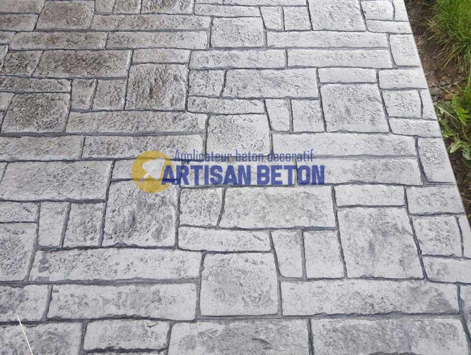 sol Béton imprimé Belgique